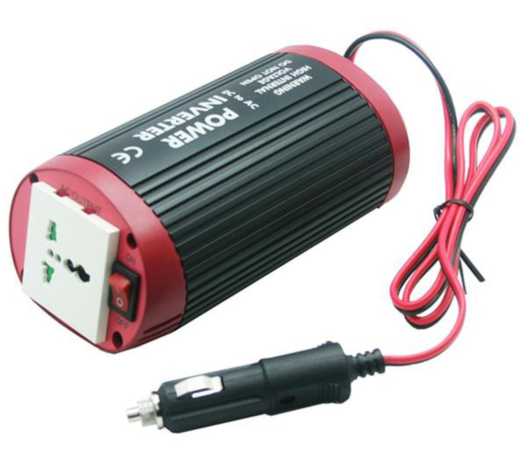 Inverter 24V 230V 150W dual socket