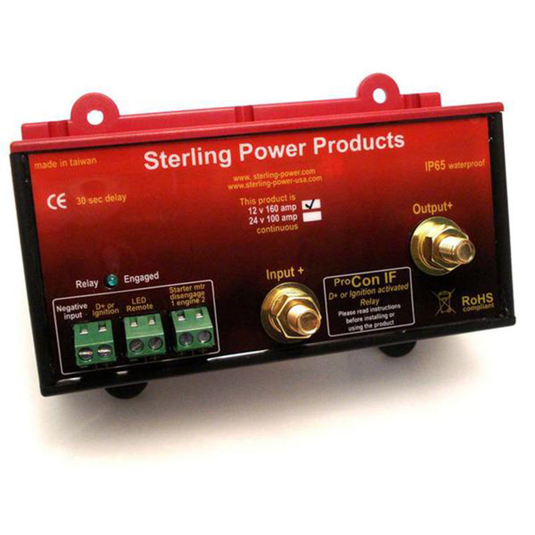 Sterling Power Ignition Feed Relay 24V 100A