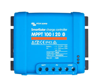 Victron Energy Smart Solar MPPT 100/20 Charge Controller with built-in Bluetooth