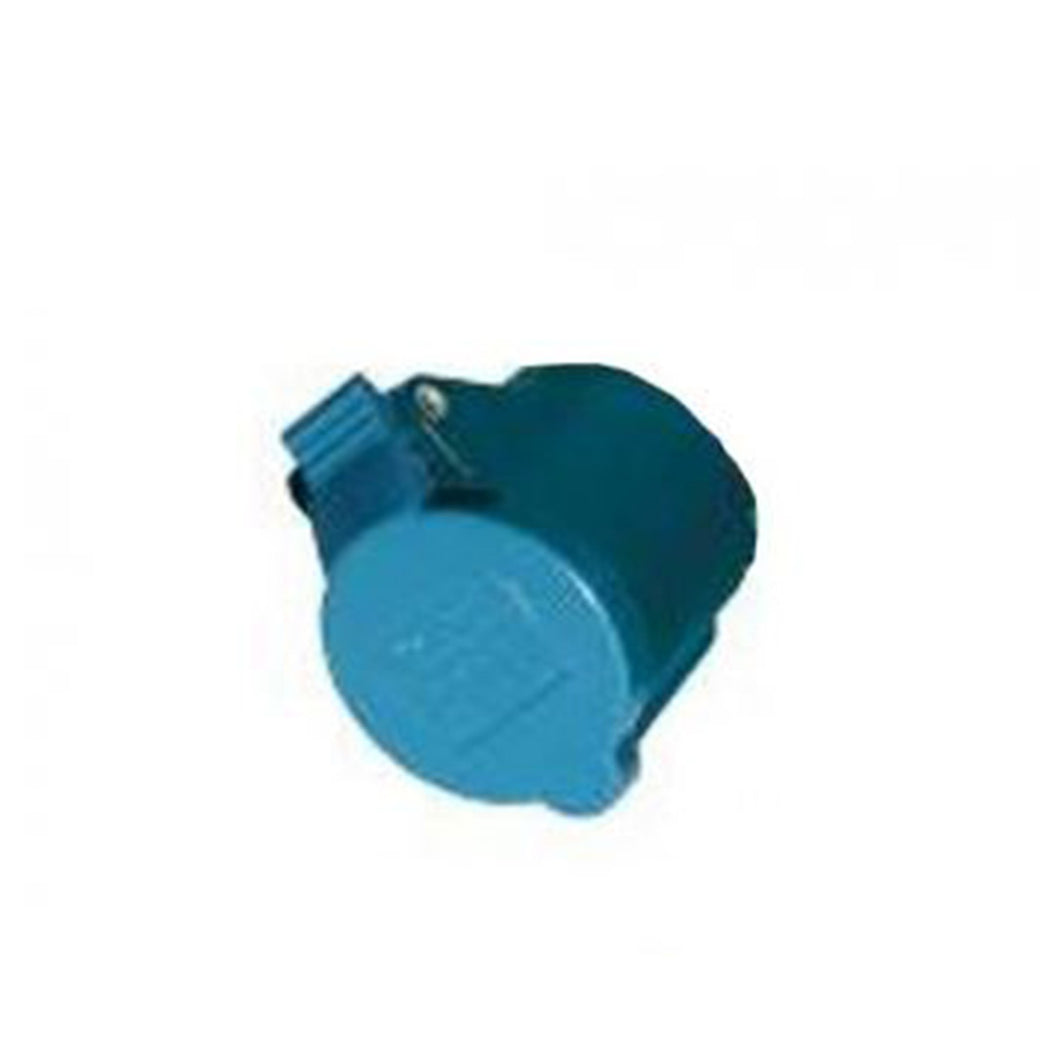 Power Inlet Polyamid with cover 16A/250Vac (2p/3w)