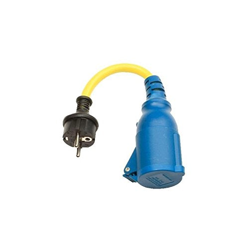 Victron Energy Adapter Cord 16A/250V-Schuko plug/CEE Coupling