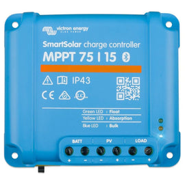 Victron Energy SmartSolar MPPT 75/15 Charge Controller with built in Bluetooth