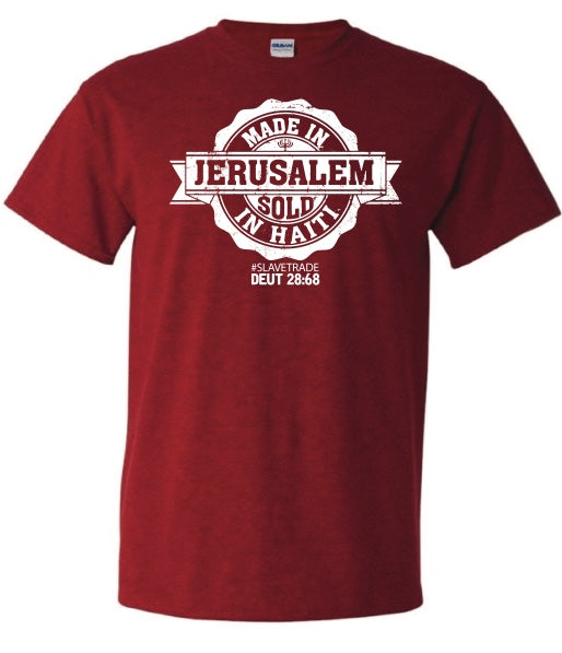 "Made in Jerusalem ""Sold in Haiti"""