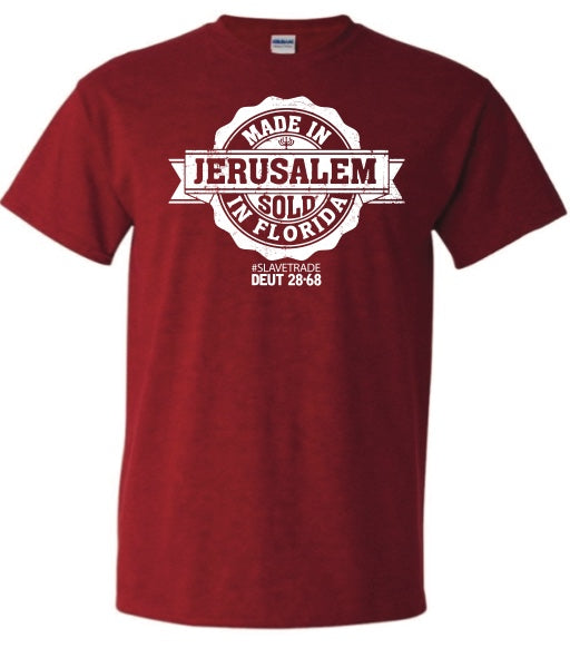 "Made in Jerusalem ""Sold in Florida"""