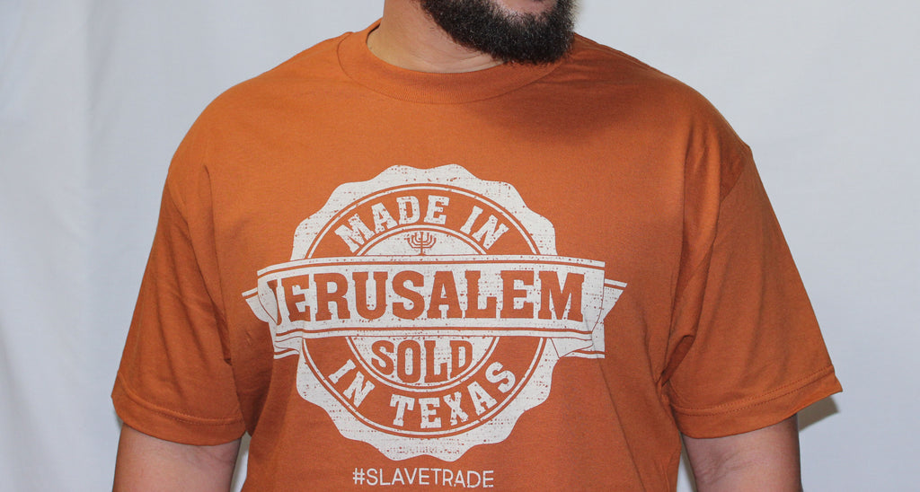 "Made In Jerusalem ""Sold in Texas"""