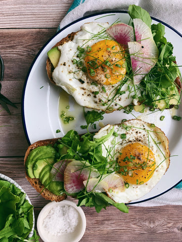 Egg & Avocado Tartines