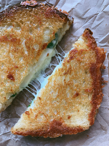 The Best Jalapeño Grilled Cheese