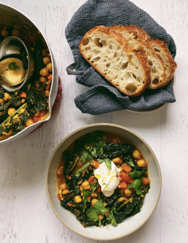 Warming Chickpea Stew