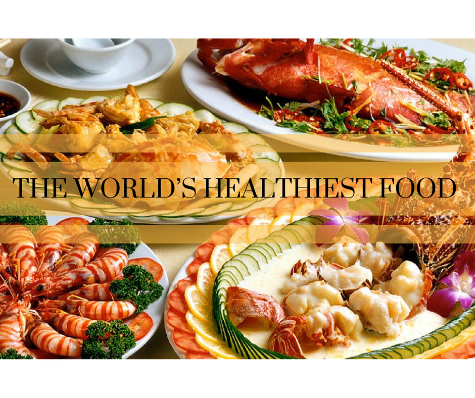 The world's healthiest food.