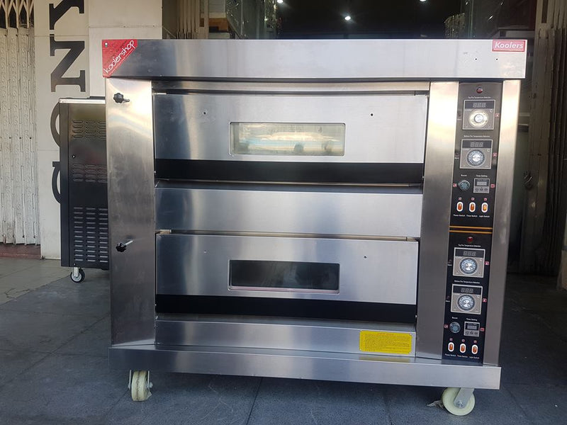 OVT-42MX Gas 2 Deck 4 Bread Oven
