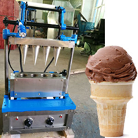 ZQR-ET4 Cone Maker Machine 4 Heads