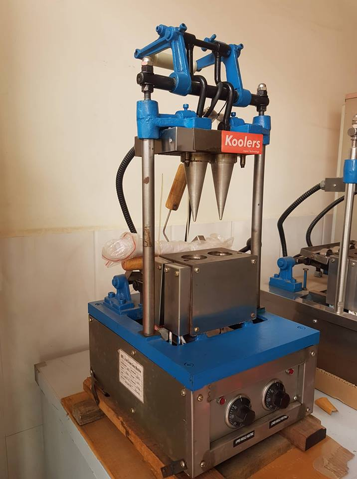 ZQR-ET2 Cone Maker Machine 2 Heads