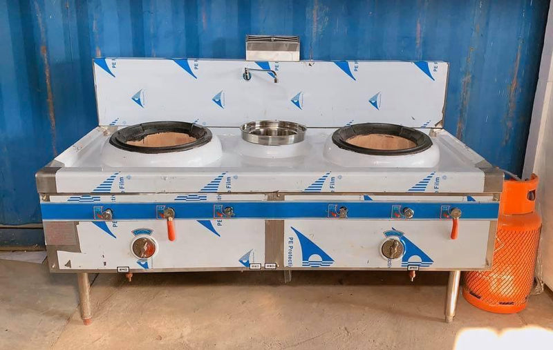 DCS-200 Double Head Single Tail Cooking Stove