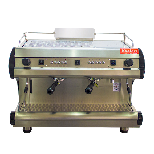 ESP-102 Two Heads Semi-Automatic Espresso Coffee Machine