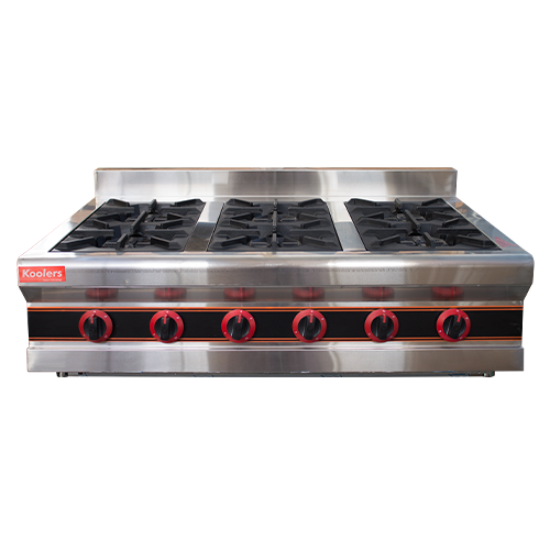 GST-600 Gas/LPG Stove 6 Heads