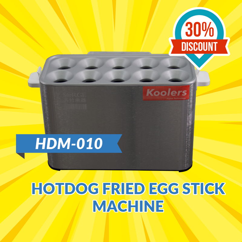 HDM-010 Hotdog Fried Egg Stick Machine