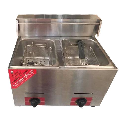 OT-72 Double Tanks Deep Fryer Gas (LPG)