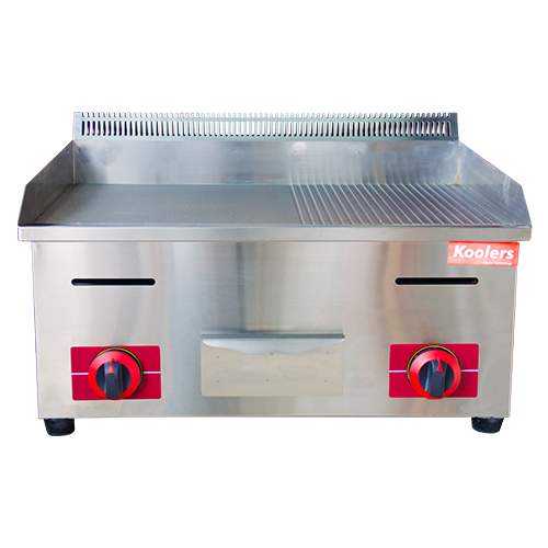 OT-GA-721 Gas Griddle Grooved