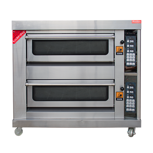 OVT-42SS Gas 2 Deck 4 Tray Bread Oven