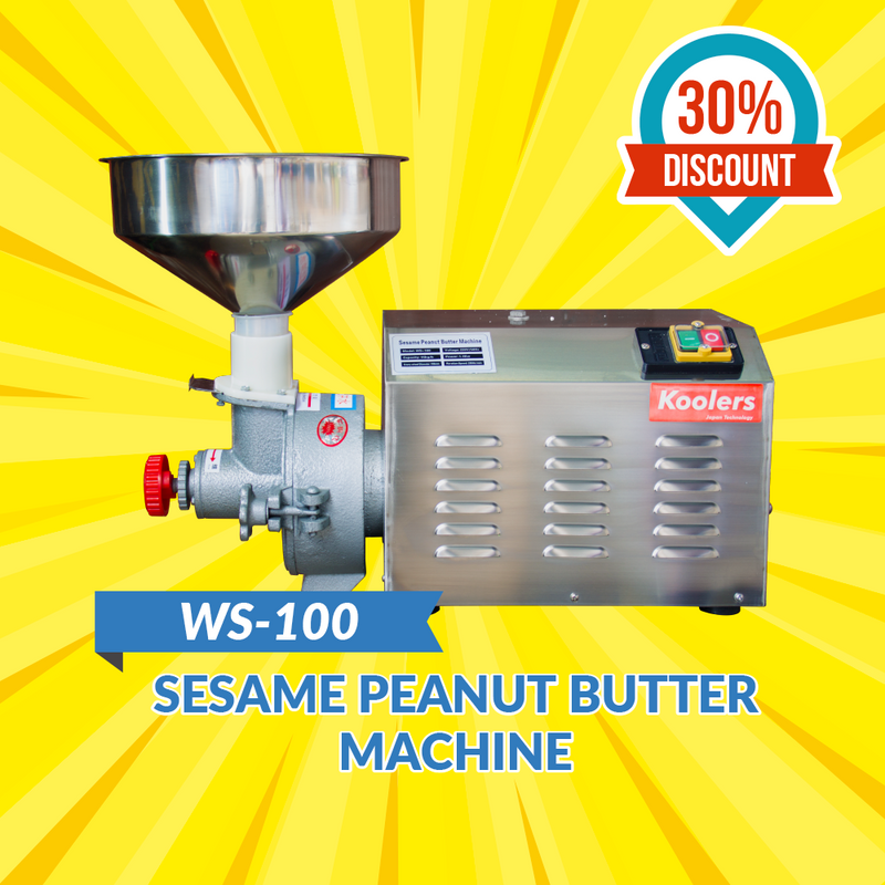 WS-100 Sesame Peanut Butter Machine