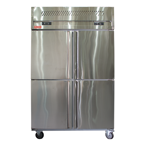 ZQR-L42 Upright 4 doors Kitchen Stainless Refrigerator