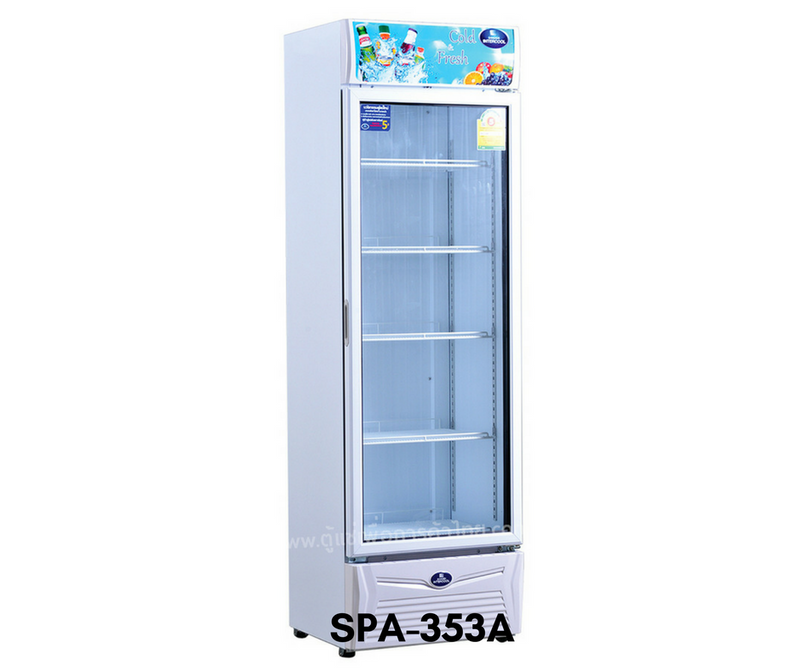 SPA-353A Sanden One Door Showcase