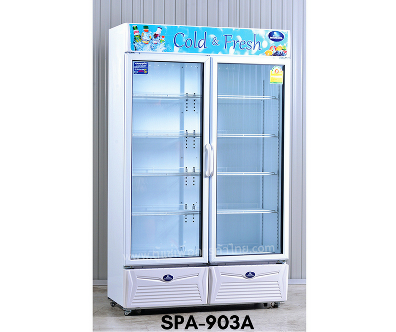 SPA-903A Sanden Two Door Showcase