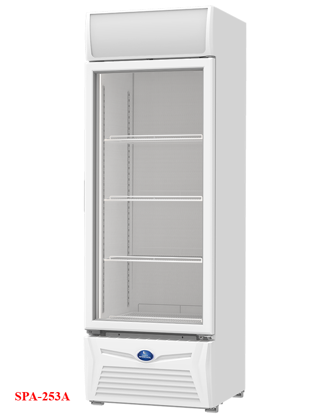 SPA-253A Sanden One Door Showcase