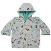 Branded Boutique Mermaid Print Raincoat