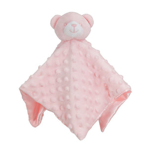 Branded Boutique Dimple Bear Comforter Pink