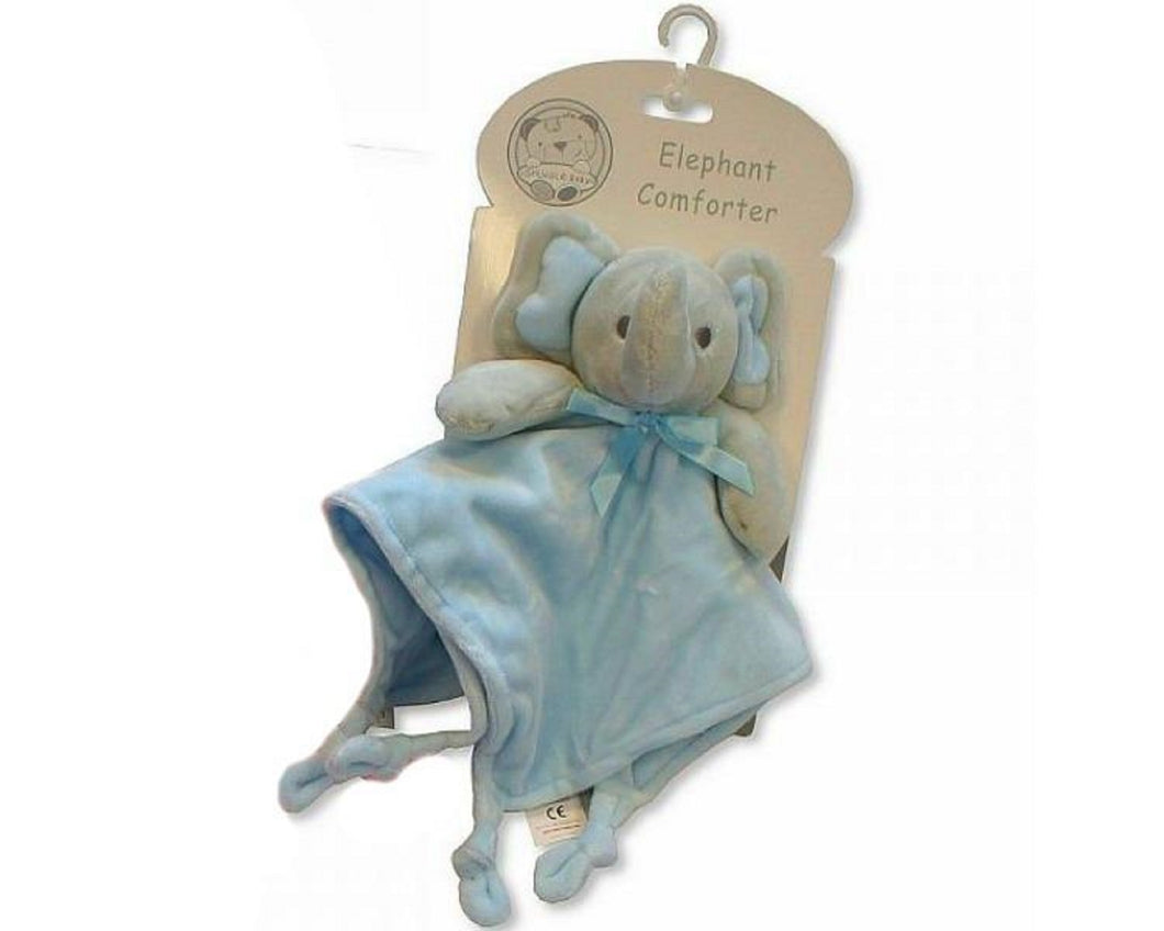Branded Boutique Baby Elephant Comforter (Blue)