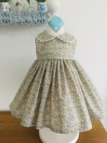 The Wishfairy Baby Harriet Dress (Liberty Floral)