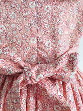 The Wishfairy Harriet Dress 'Pink Liberty Small Flowers'