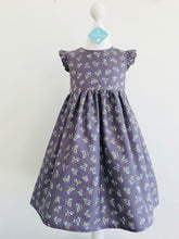 The Wishfairy Grace Dress (Bluebells on Dusky Plum)