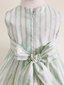 The Wishfairy Eve Dress 'Mint Candy Stripe'