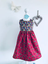 The Wishfairy Eve Dress 'Princess Pony on Red'