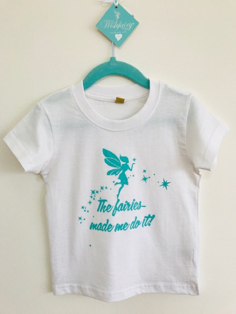 Wishfairy Short Sleeve T-Shirt (The Fairies Made Me Do It)