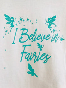 Wishfairy Short Sleeve T-Shirt (I Believe in Fairies)