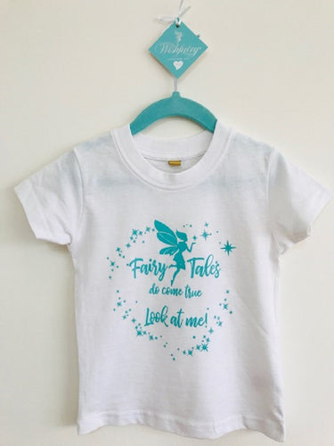 Wishfairy Short Sleeve T-Shirt (Fairytales do come true Look at Me...)