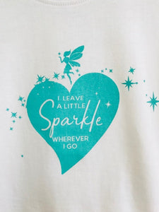Wishfairy Short Sleeve T-Shirt (I Leave a little Sparkle wherever I go)