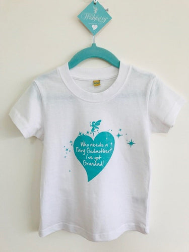 Wishfairy Short Sleeve T-Shirt (Who Needs a Fairy Godmother...I've got grandad! )