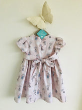 The Wishfairy Sara Ann Baby Dress and Pants (Parachuting Babies in Pink)
