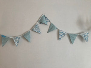 Wishfairy Blue Bunting