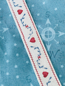 Wishfairy Suzy Skirt (North Pole Compass on Icy Blue)