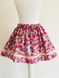 Wishfairy Suzy Skirt (Pink Poppy )