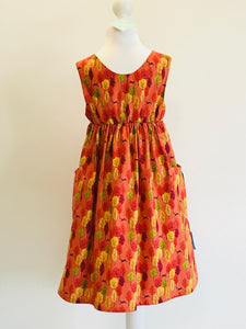 Wishfairy Polly Dress (Leaping Deer Sunset)