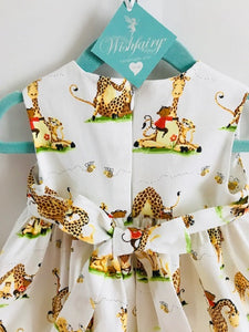 The Wishfairy Bunty Baby Dress (Zoe the Giraffe and Buddies)