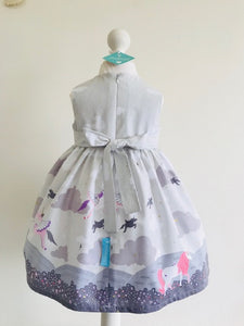 The Wishfairy Bunty Baby Dress (Magical Unicorns)