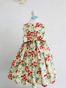 The Wishfairy Eve Dress 'Red Cherry Fabric'