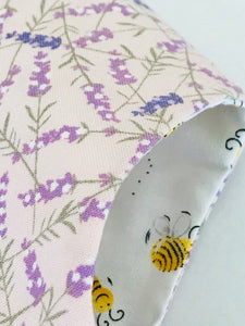 The Wishfairy Bunty Baby Dress (Lavender on Pink)